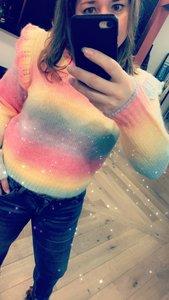 Rainbow Sweater 9842