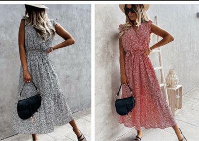 Polka Dress Lang